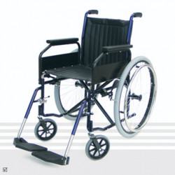 Glide Series 1 Amputee Folding Wheelchair