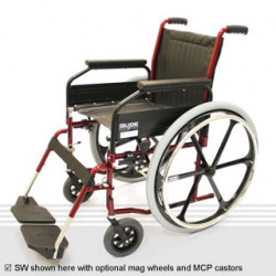 Glide Series 1 Standard Folding Wheelchair
