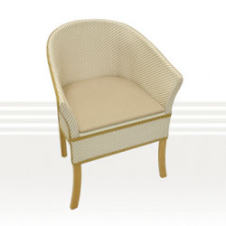 Care Quip Woven Loom Wicker Commode