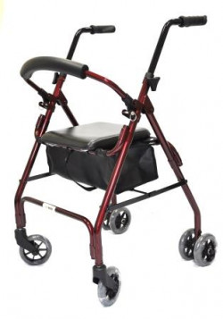 CareQuip Walker Push Down Weight Activated Brakes