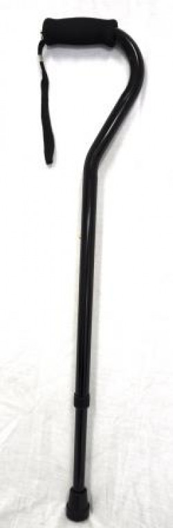 CareQuip Straight Handle Walking Stick Colour Black