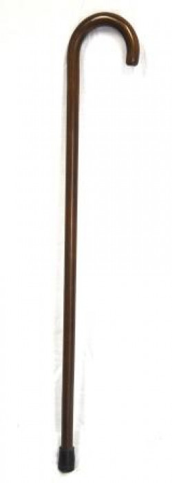 Coopers Gents Crook Handle Walking Stick with Z Ferrule