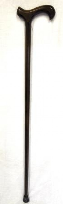 Coopers Ladies Crutch Handle (T bar) Walking Stick with C Ferrule