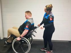 Universal Wheelchair Spotters Strap