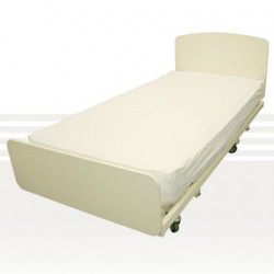 Care Quip Incontinent Vinyl Fitted Sheet - Double