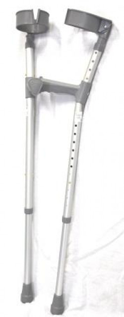 Coopers Elbow Crutches Adjustable Handgrip Size L