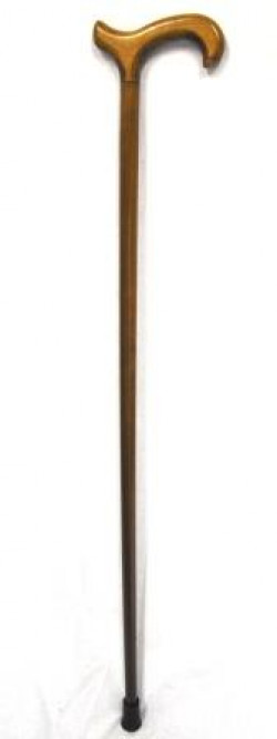 Coopers Gents Crutch Handle (T bar) Walking Stick with C Ferrule