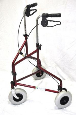 CareQuip Tri-Wheel Walker Colour Dark Blue