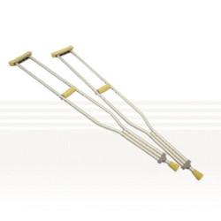 Aluminium Underarm Crutches - Youth, Medium , Large