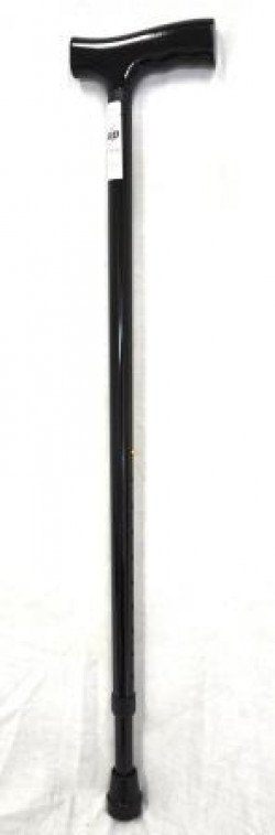 CareQuip Lightweight Aluminium Walking Stick Colour Black