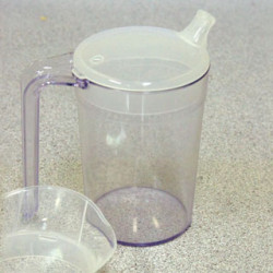 Clear Polycarbonate Mug