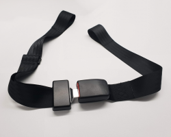 Car Type Seat Belt - Loop Attachment